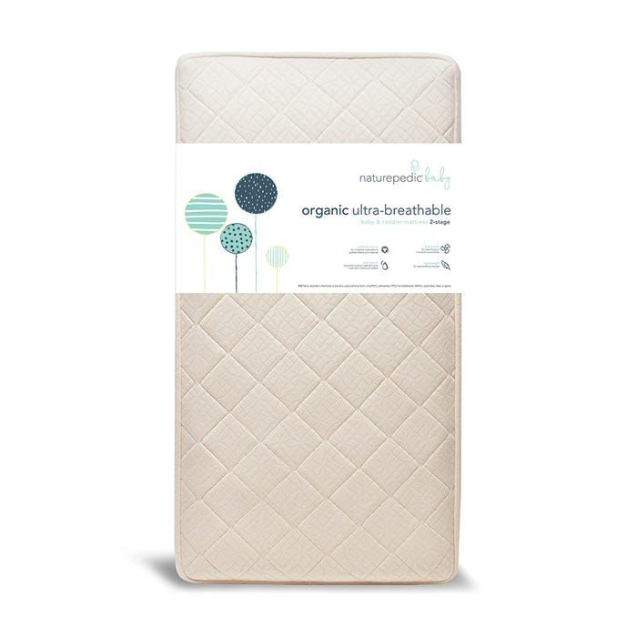 MC45 / CREAM/QUILTED / 2-IN-1 ULTRA CRIB MATTRESS