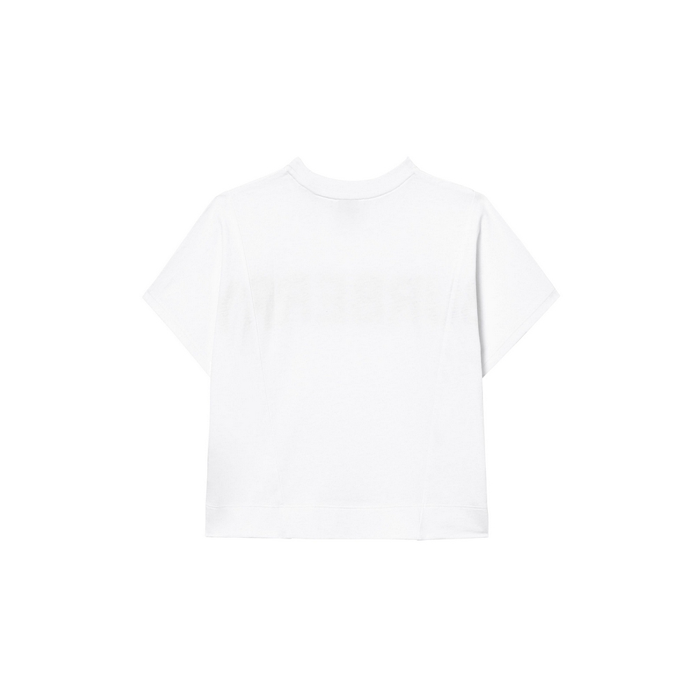 8026875 / WHITE / BURBERRY Sawyer Mesh T-Shirt