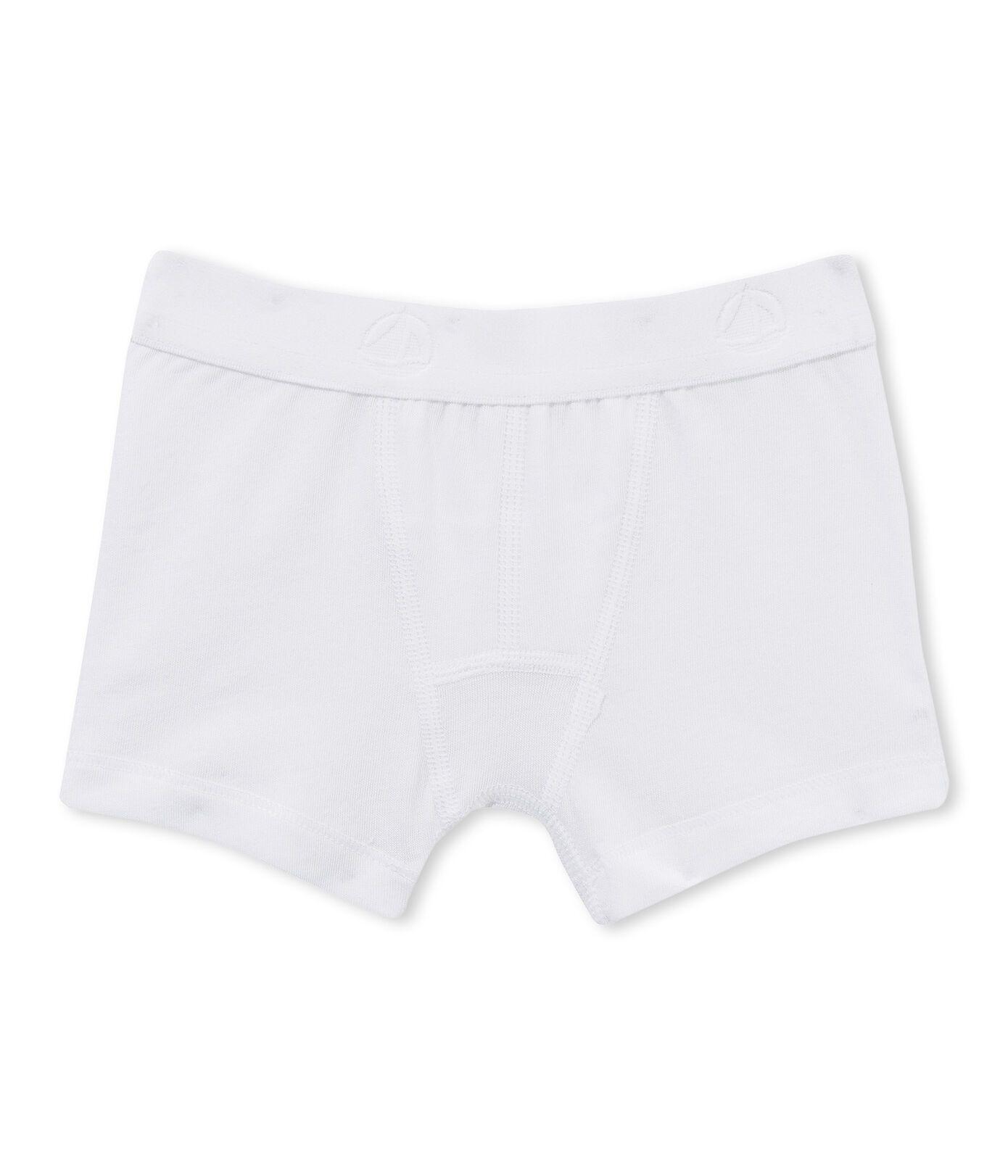15048 / WHITE / Boy's Boxers
