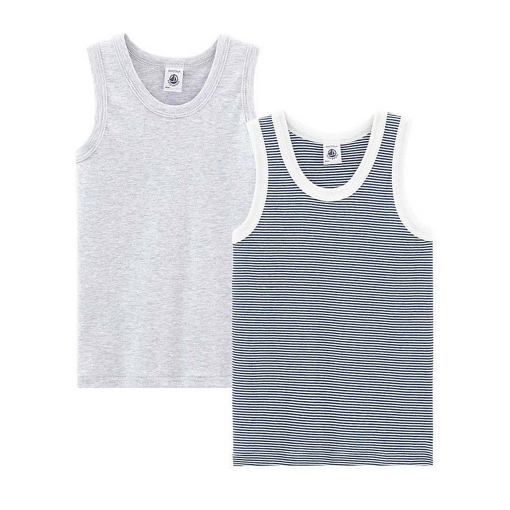 48917 / MULTI / Boy's 2 Pack Tank Tops