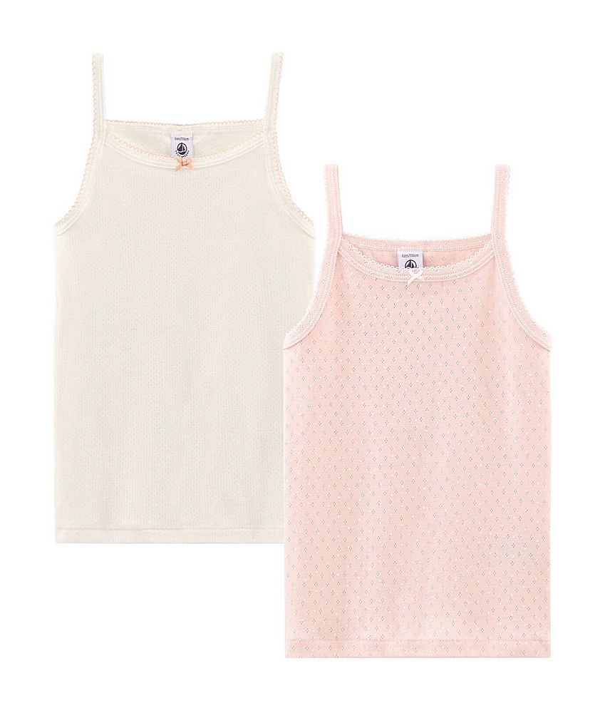 47991 / MULTI / Girls Camisoles 2 Pack