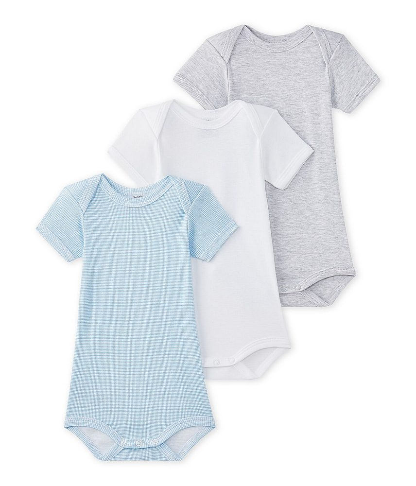 27654 / MULTI / 3 Pack Body Suits