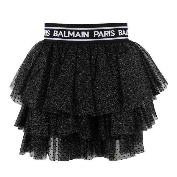 6L7040.930 / BLACK / Tutu Skirt
