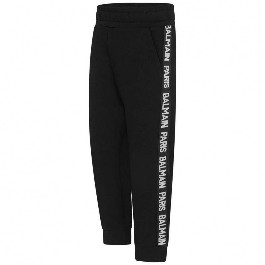 6K6600 / BLACK / Sweatpants With Side Leg Logo
