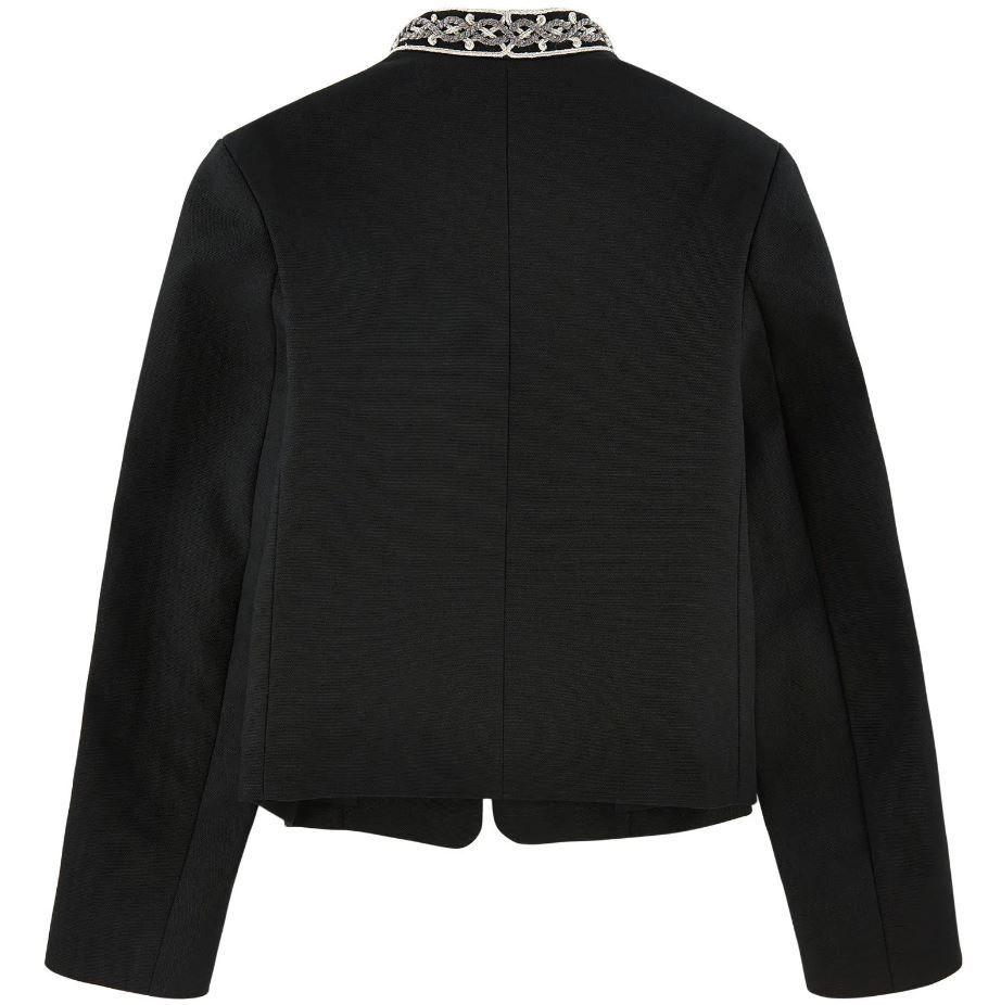 7003S039 / BLACK / Military Jacket