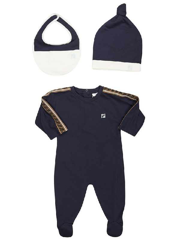 BUK034 / F16WE NAVY / FENDI FOOTIE GIFT SET