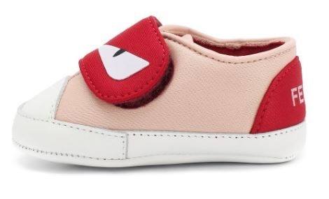 BUR025. / F0JE6 PINK / FENDI MONSTER EYES CRIB SHOES