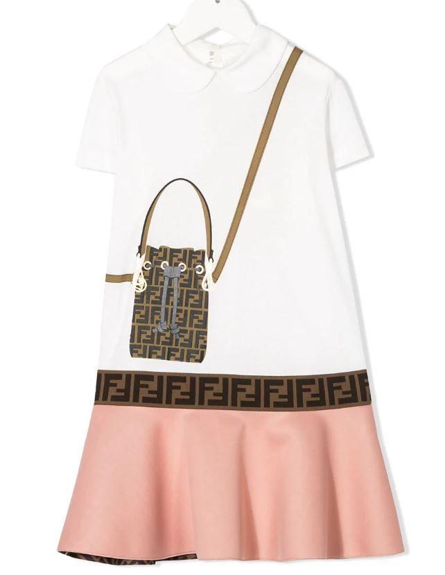 JFB319 / WHITE / Trompe Loiel Dress