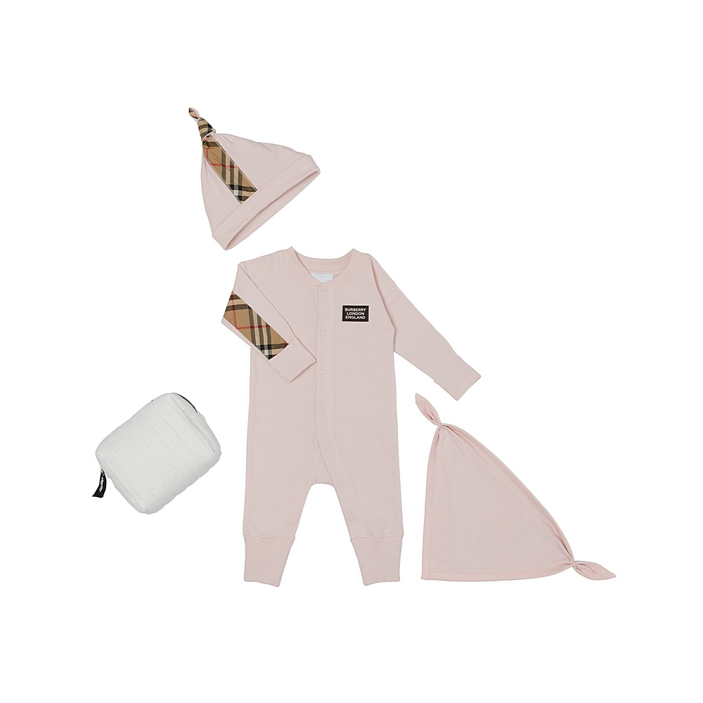 8030588 ICE PINK PLAYSUIT GIFT SETS BURBERRY