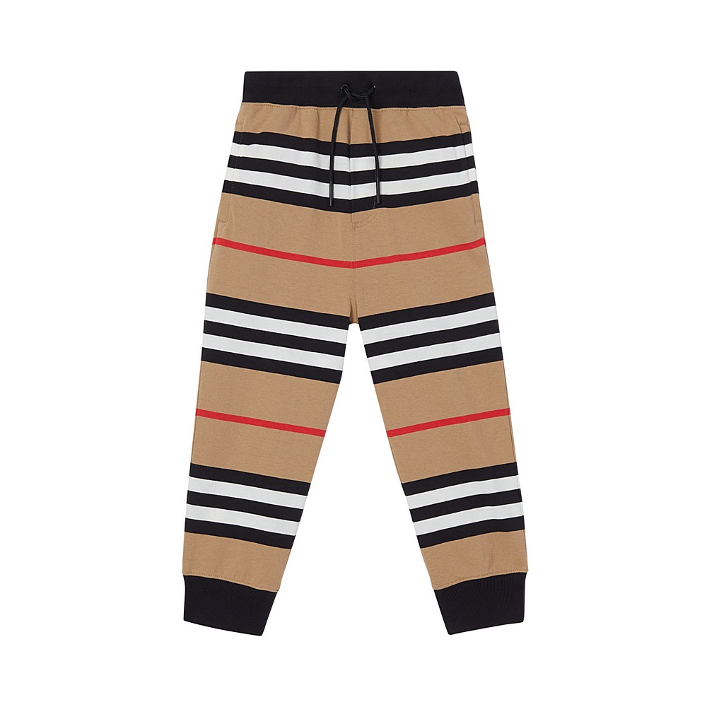 8029661 / ARCHIVE BEIGE / BURBERRY LANFORD ICON JERSEY TROUSERS