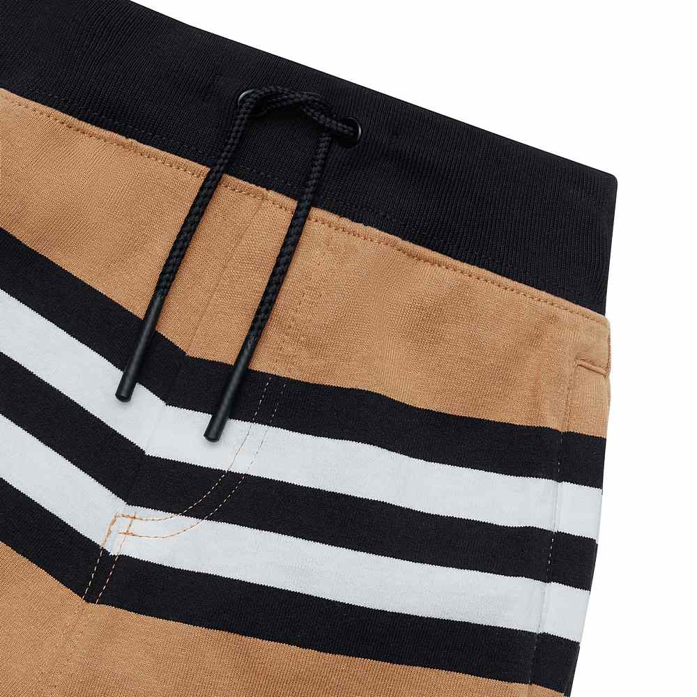 8031791 / ARCHIVE BEIGE / BURBERRY LANFORD ICON S JERSEY TROUSERS