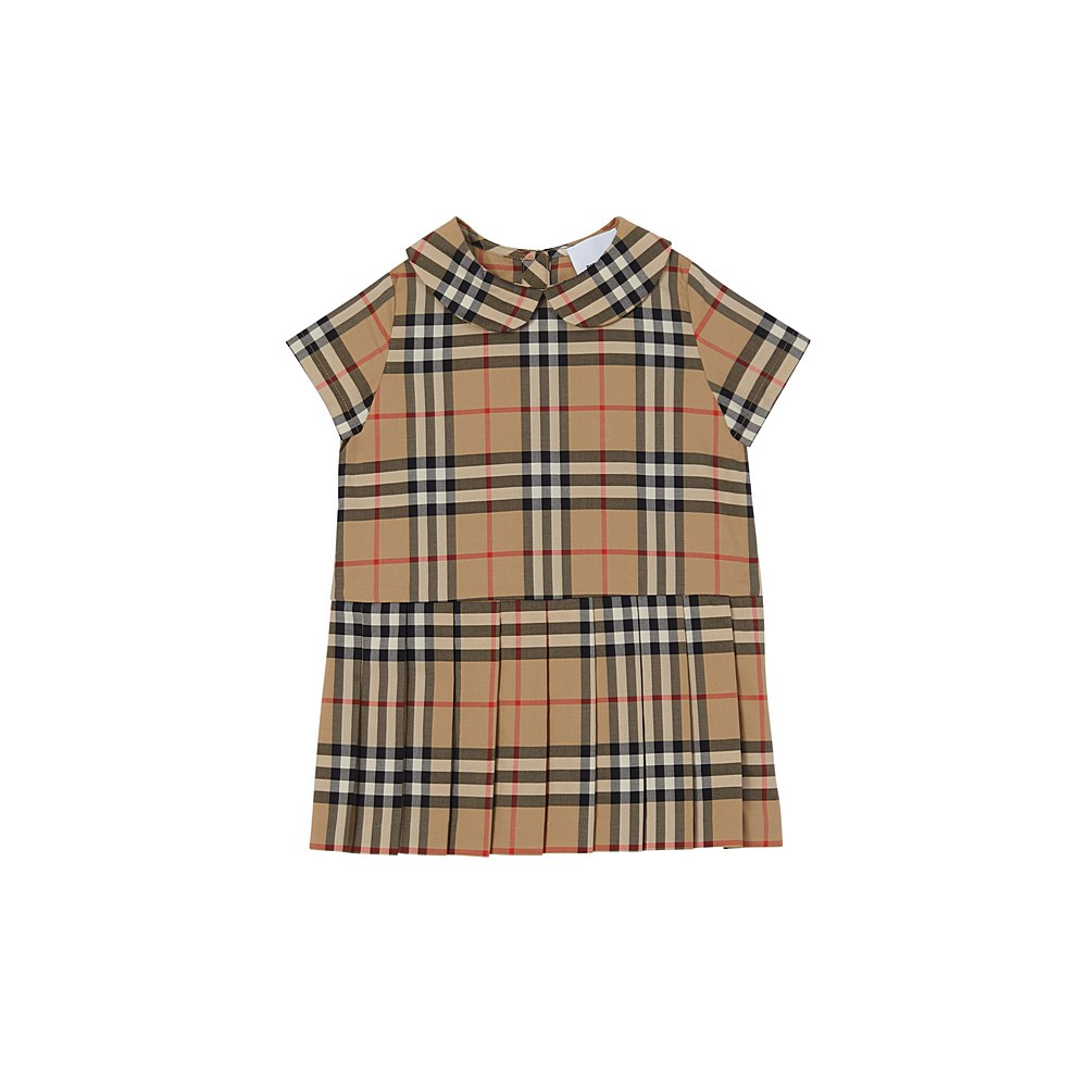 8030342 / ARCHIVE BEIGE / BURBERRY PEGGY-CH DRESS