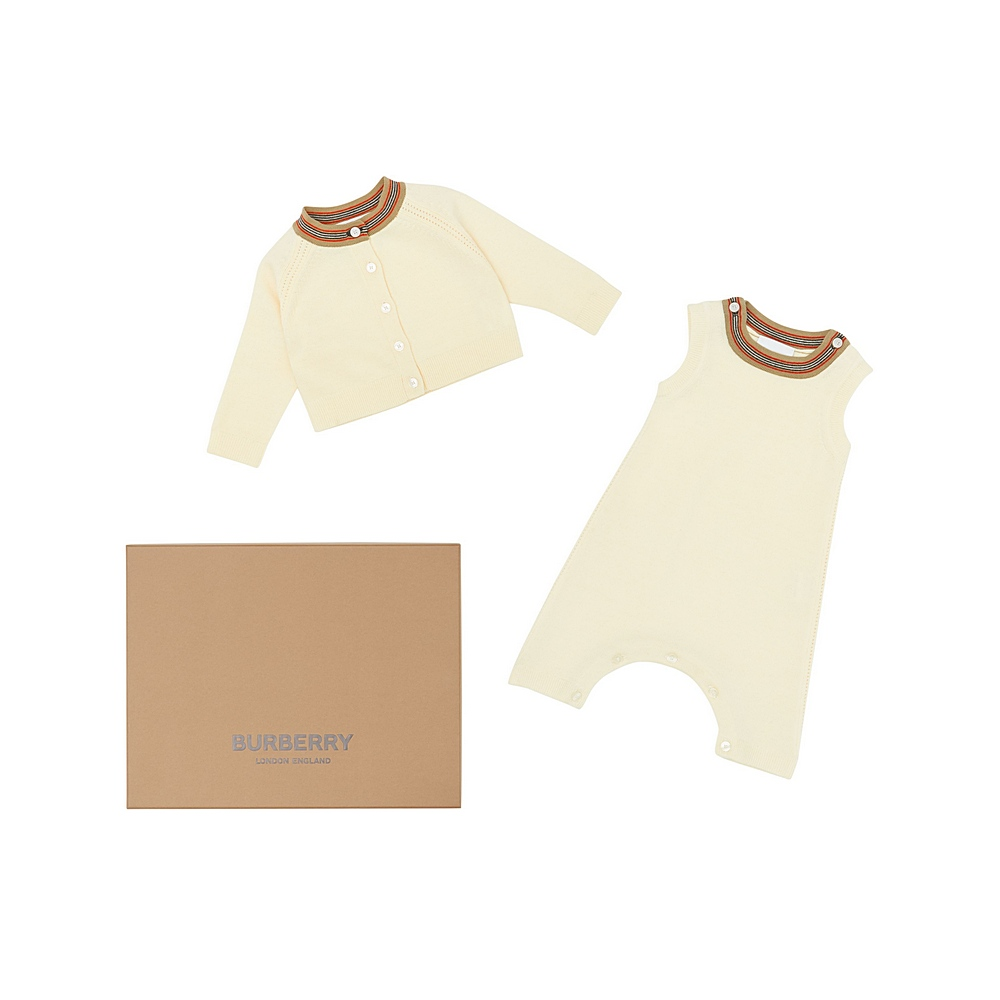8030654 / IVORY / BURBERRY MINI KIMMY SET
