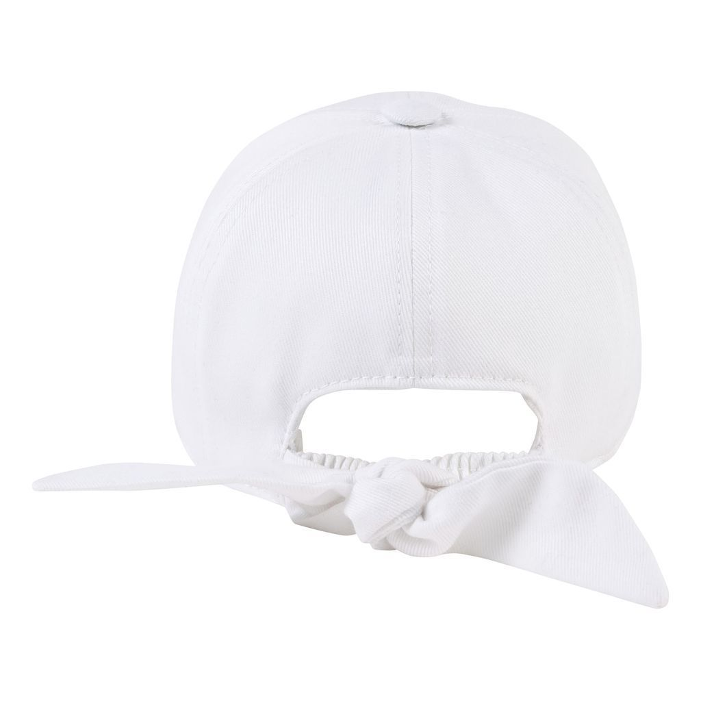 H01026 / 10B WHITE / GIVENCHY HAT W/LOGO