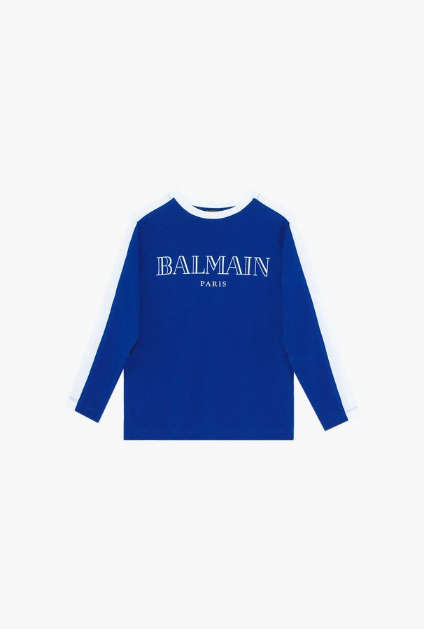 6L8600 / 616 BLUE / BALMIN LS TEE W/LOGO AND TRIM