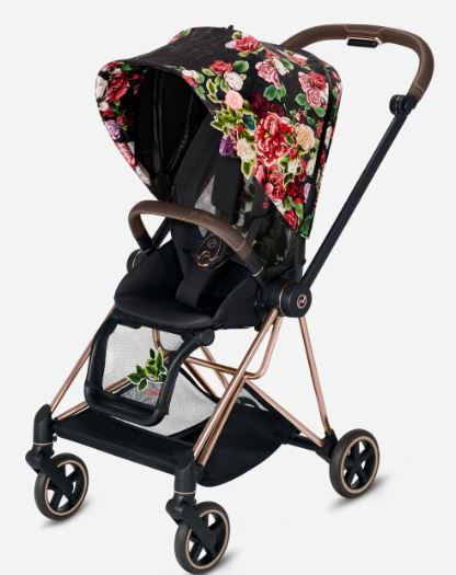 519004011 / SPRINGBLSSMDARK / Cybex MIOS Seat Pack Spring Blossom Black