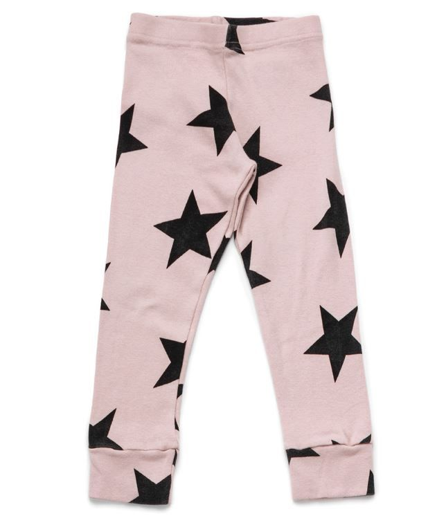 NU1557 / POWDER PINK / NUNUNU STAR LEGGINGS