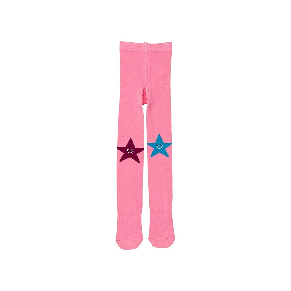 601167 / PINK / GIRL STAR TIGHTS