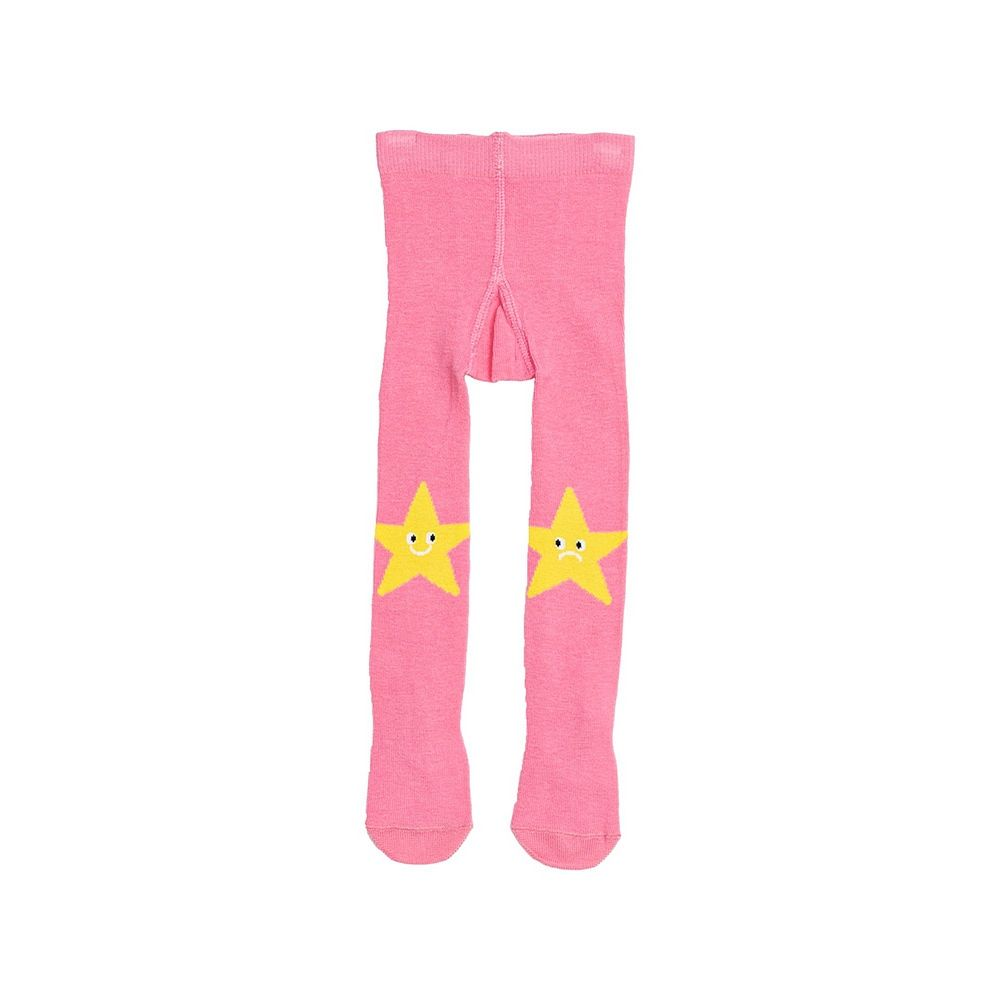 601049 / PINK / BABY GIRL STARS TIGHTS