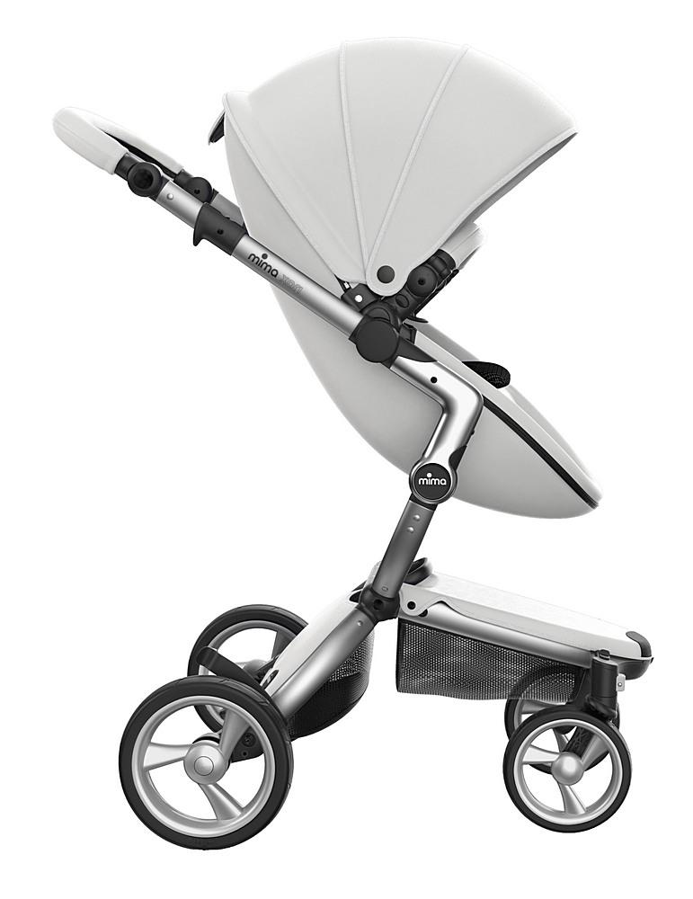 A116-01007 / WHITE/BLACK / Mima Xari Aluminum Frame Strollers