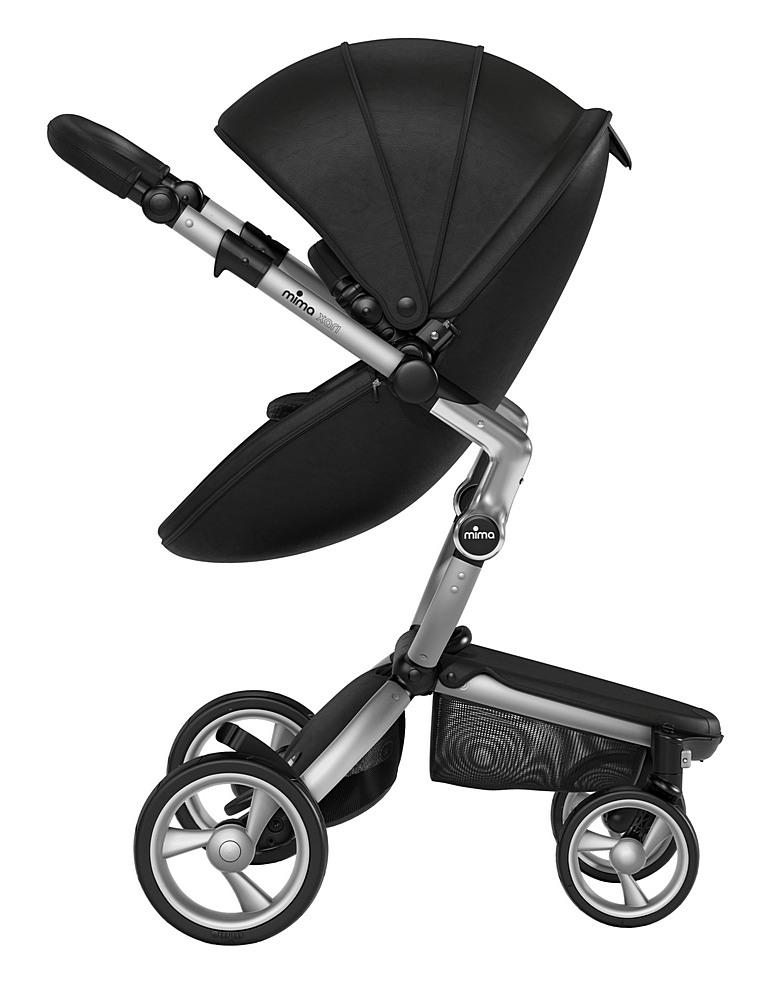A116-01007 / BLACK/ B&W / Mima Xari Aluminum Frame Strollers