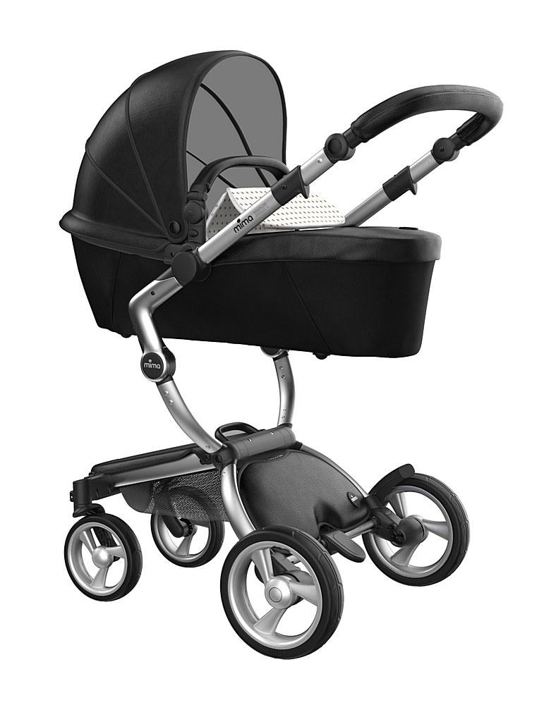 A116-01007 / BLACK/BEIGE / Mima Xari Aluminum Frame Strollers