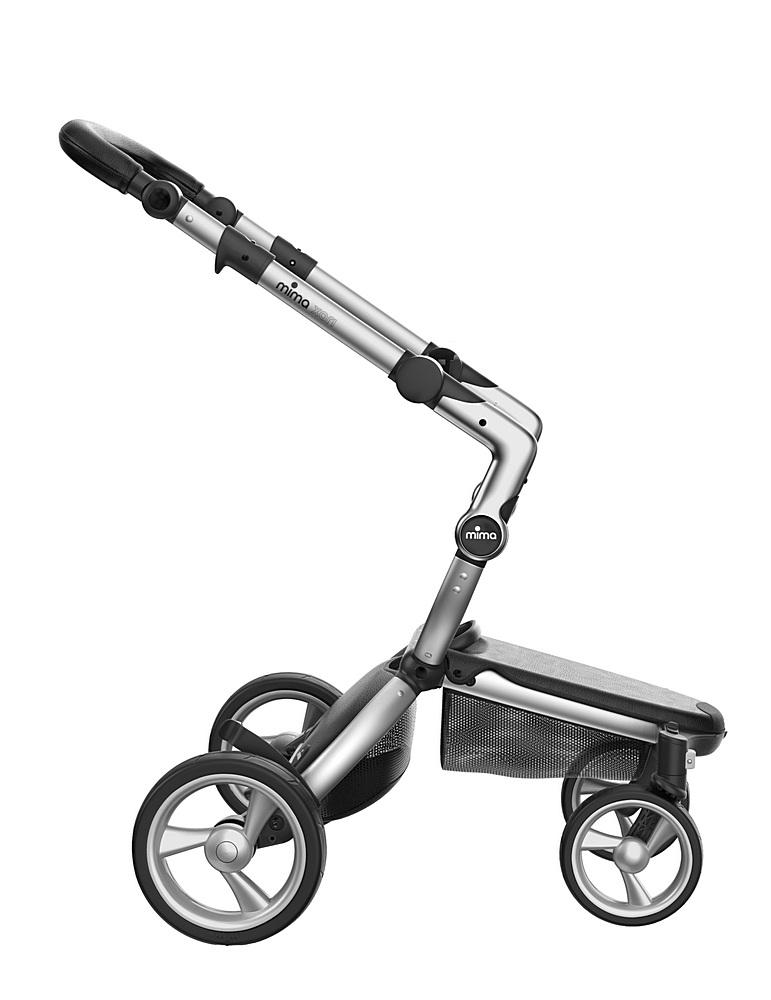 A116-01007 / CAMEL/ BLACK / Mima Xari Aluminum Frame Strollers