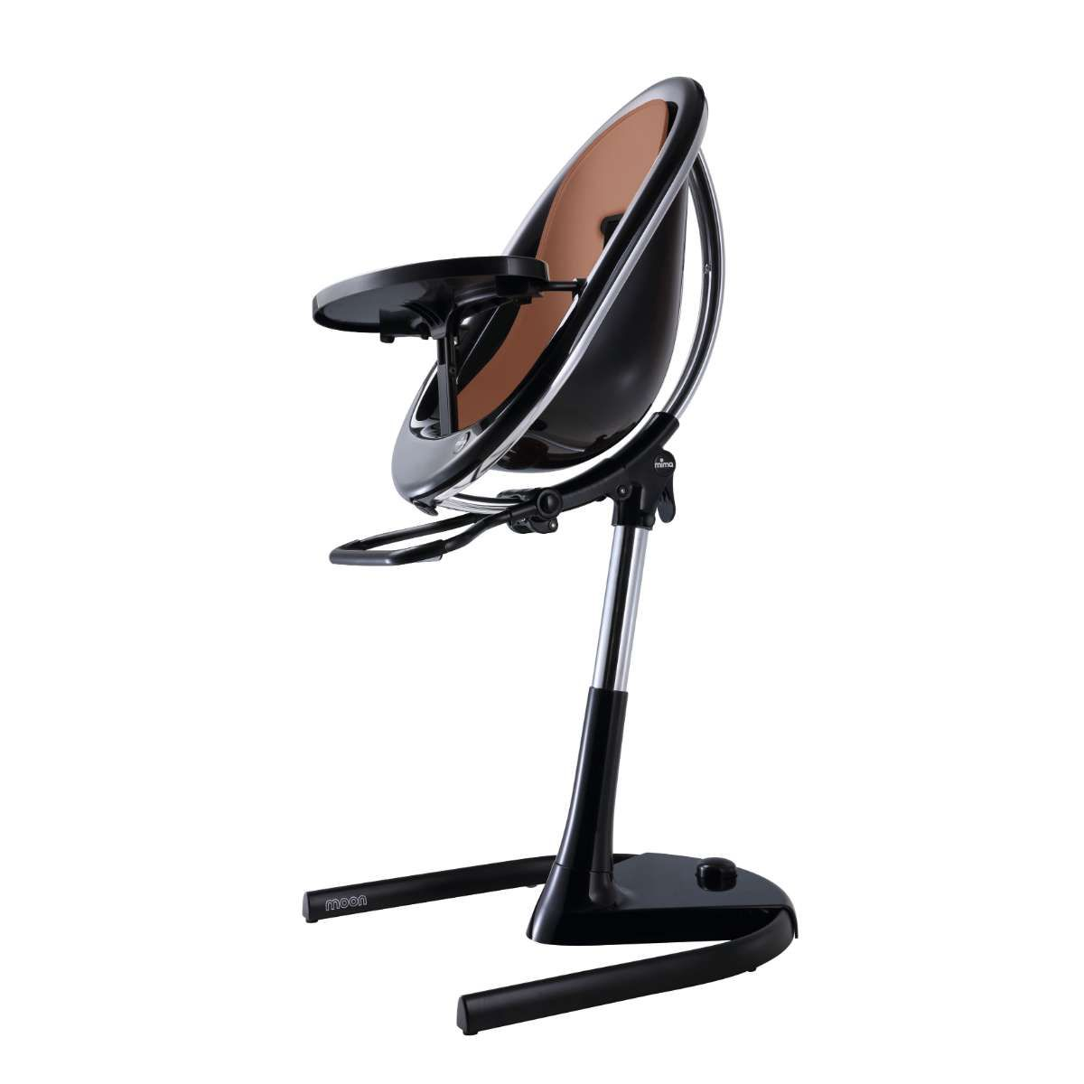 H103C-BL-BBD190 / CAMEL / Mima Moon 2G Black Base Highchair