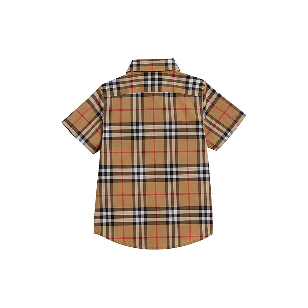 8002633 / YELLOW / BURBERRY FRED PKT SS SHIRT