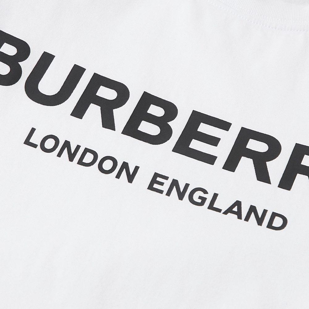 8009235 / WHITE / BURBERRY ROBBIE T-SHIRT