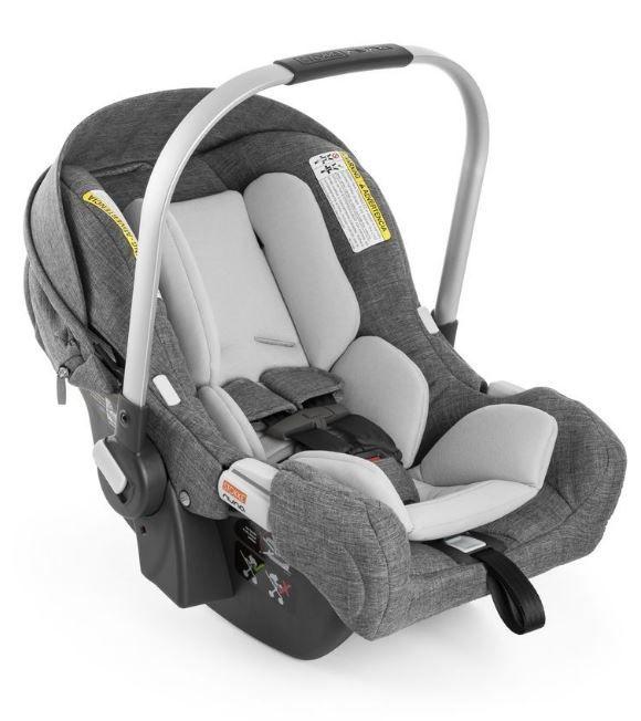 519201 / BLACK MELANGE / STOKKE PIPA INFANT CAR SEAT BY NUNA - BLACK MELANGE