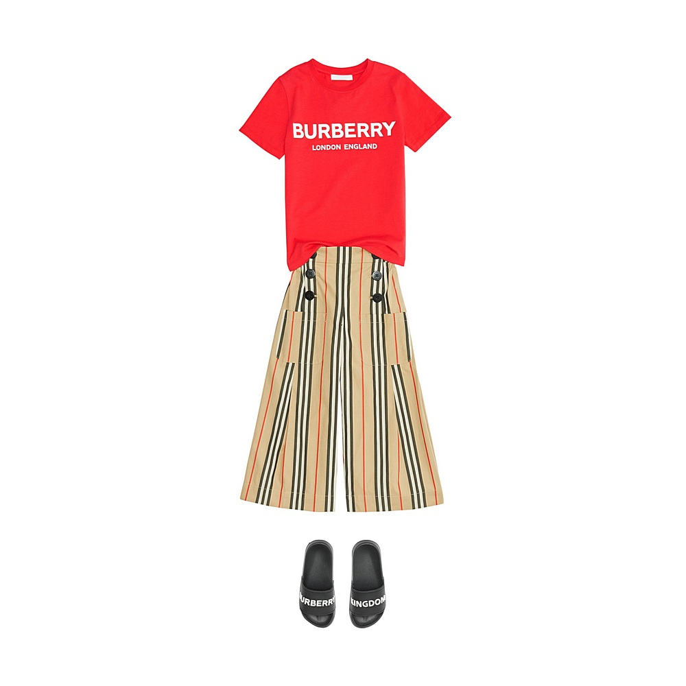 8011169 / BRIGHT RED / BURBERRY ROBBIE T-SHIRT