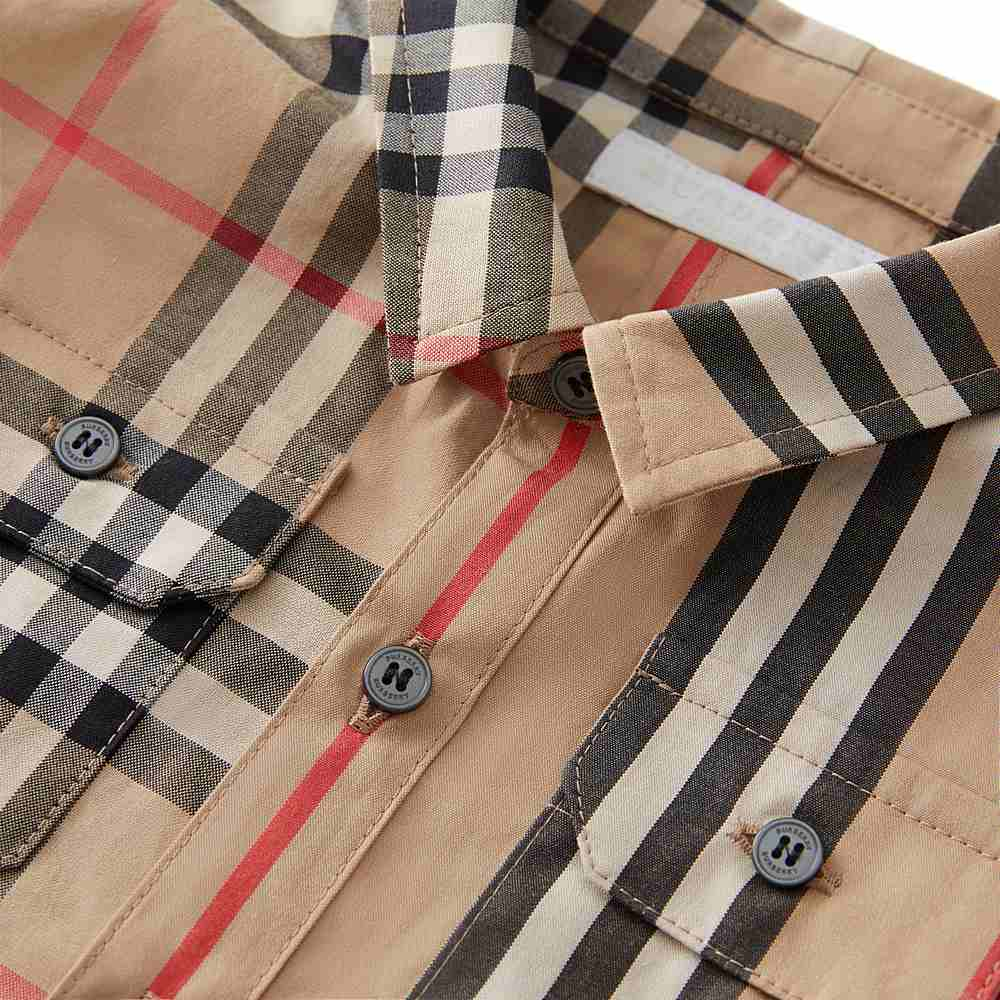8014109 / MULTI / BURBERRY AMIR LS CHECK SHIRT