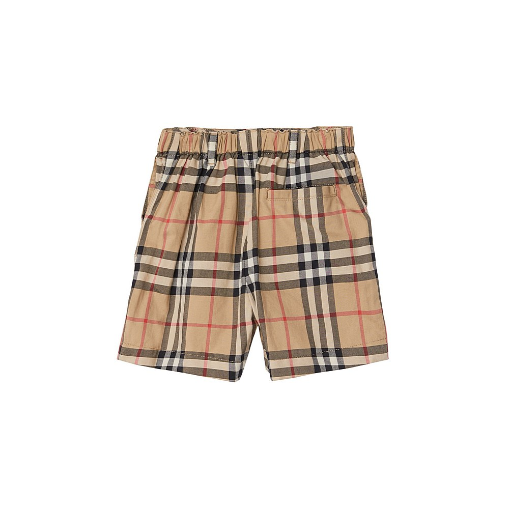 8014138 / ARCHIVE IP CHK / BURBERRY SEAN SHORTS