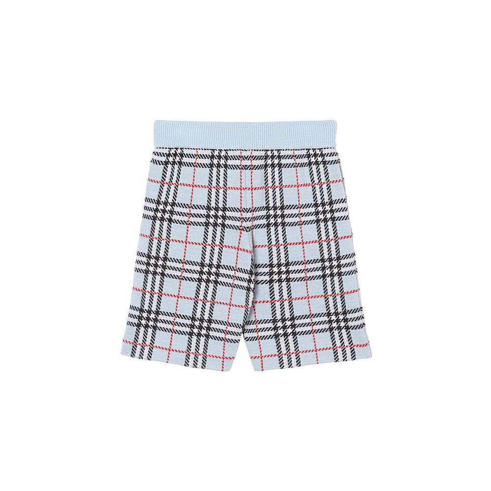 8022928 / BLUE CHECK / BURBERRY JASPER SHORTS
