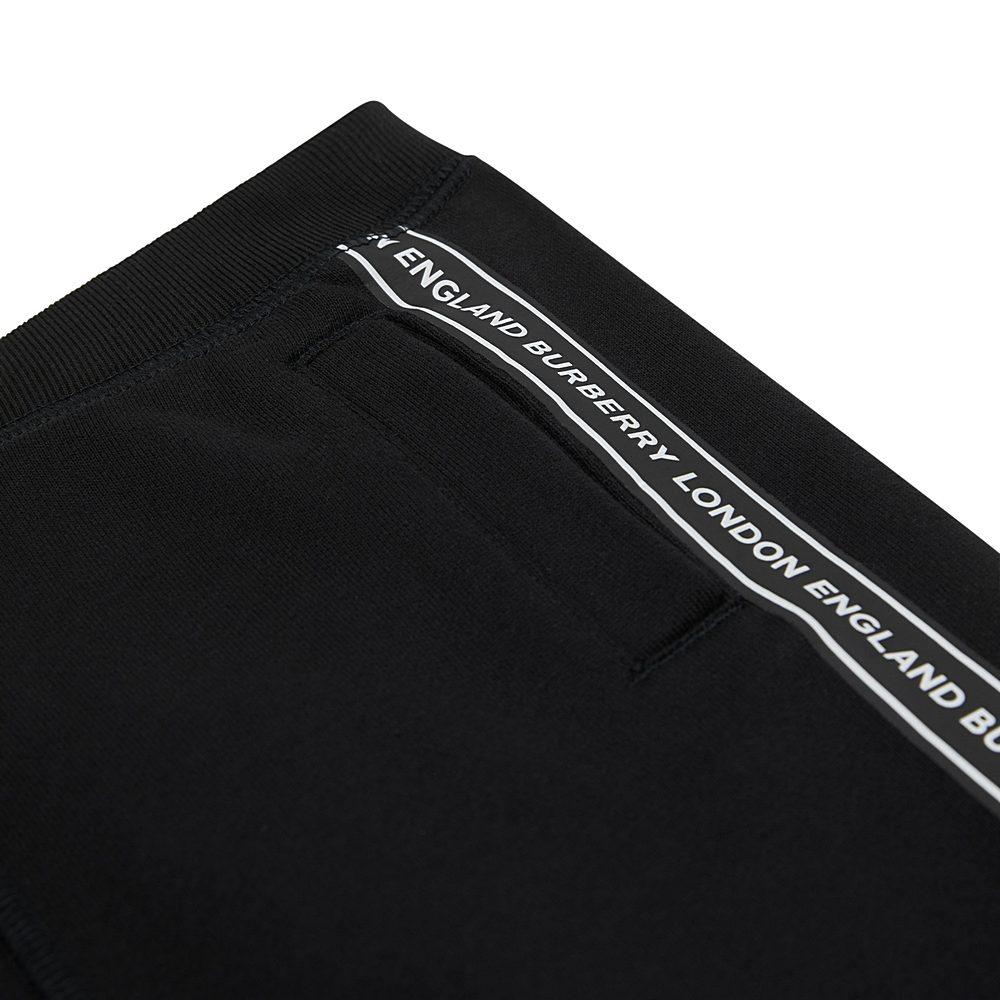 8027912 / BLACK / BURBERRY LUCIAN TAPE SHORTS