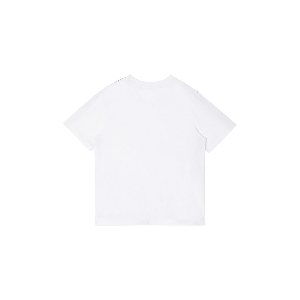 8027914 / WHITE / BURBERRY ROSS TAPE TEE