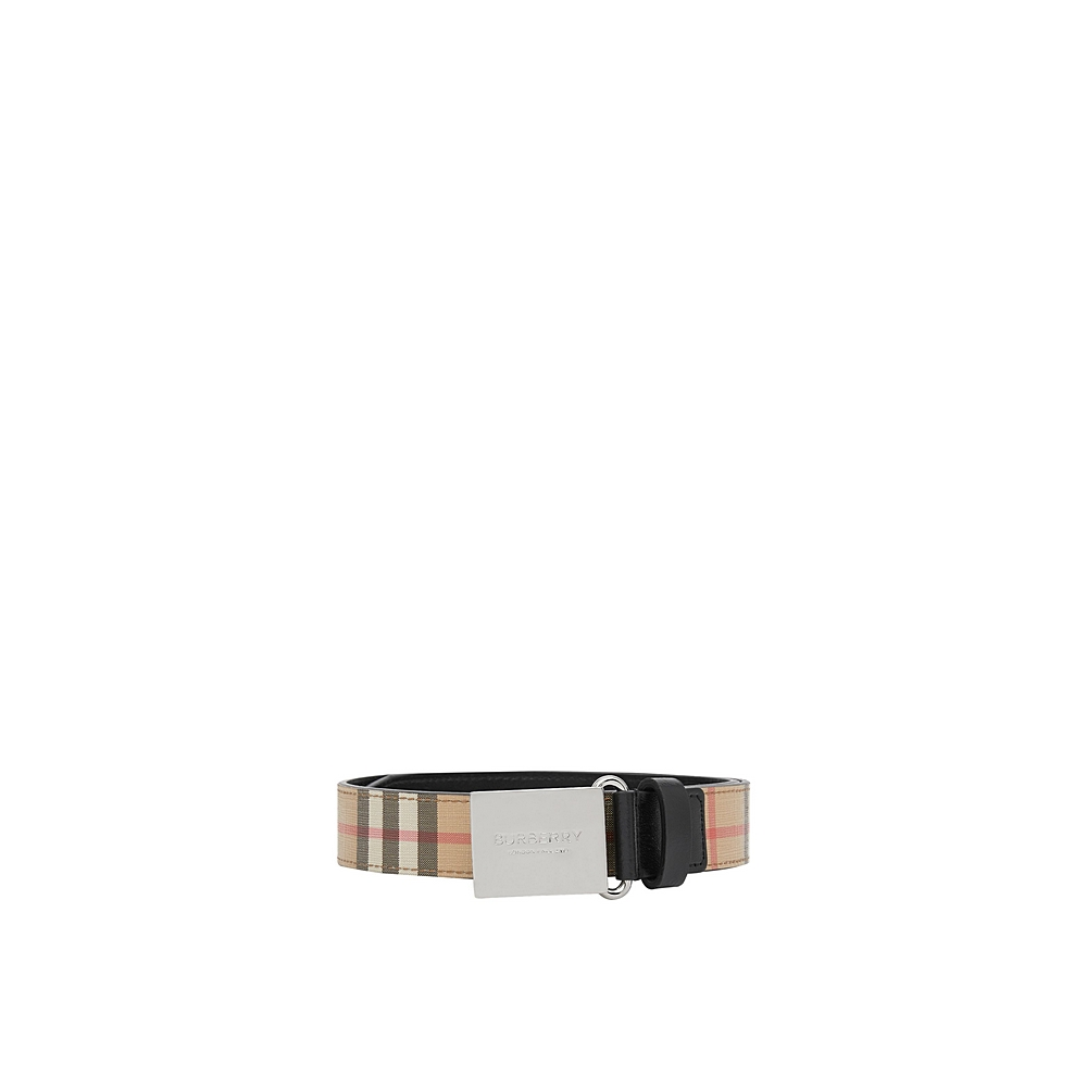 8018507 / MULTI / BURBERRY PLAQUE CHW BELTS