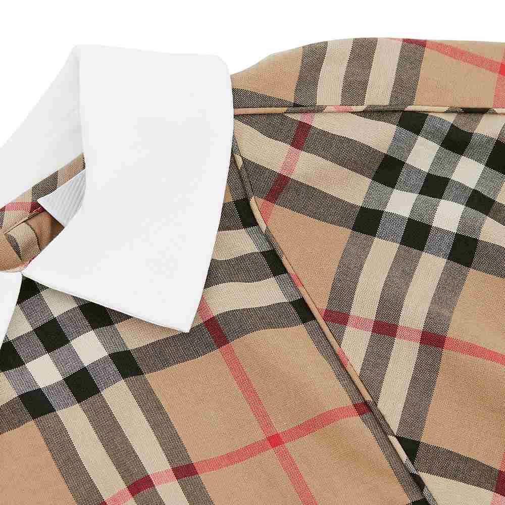 8022568 / ARCHIVE BEIGE / BURBERRY CHK ROBYN DRESS