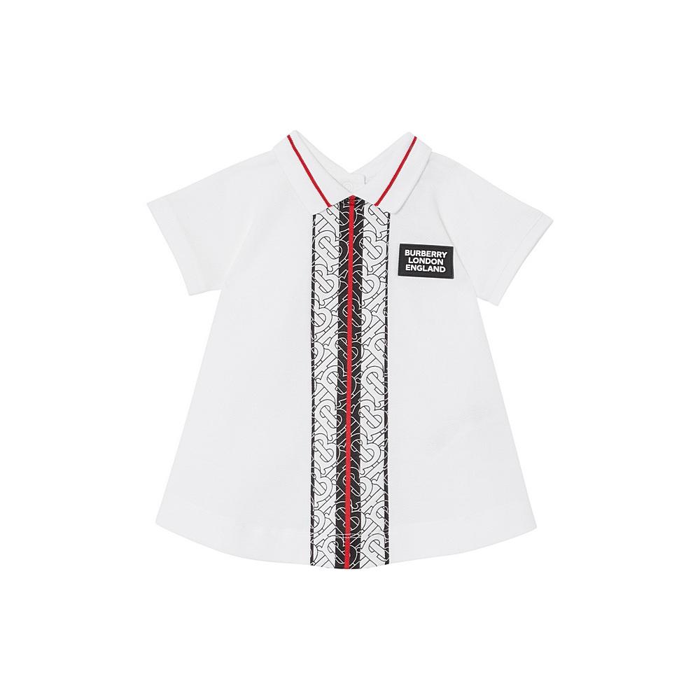 8026020 / VIOLET / BURBERRY MONO DRESS