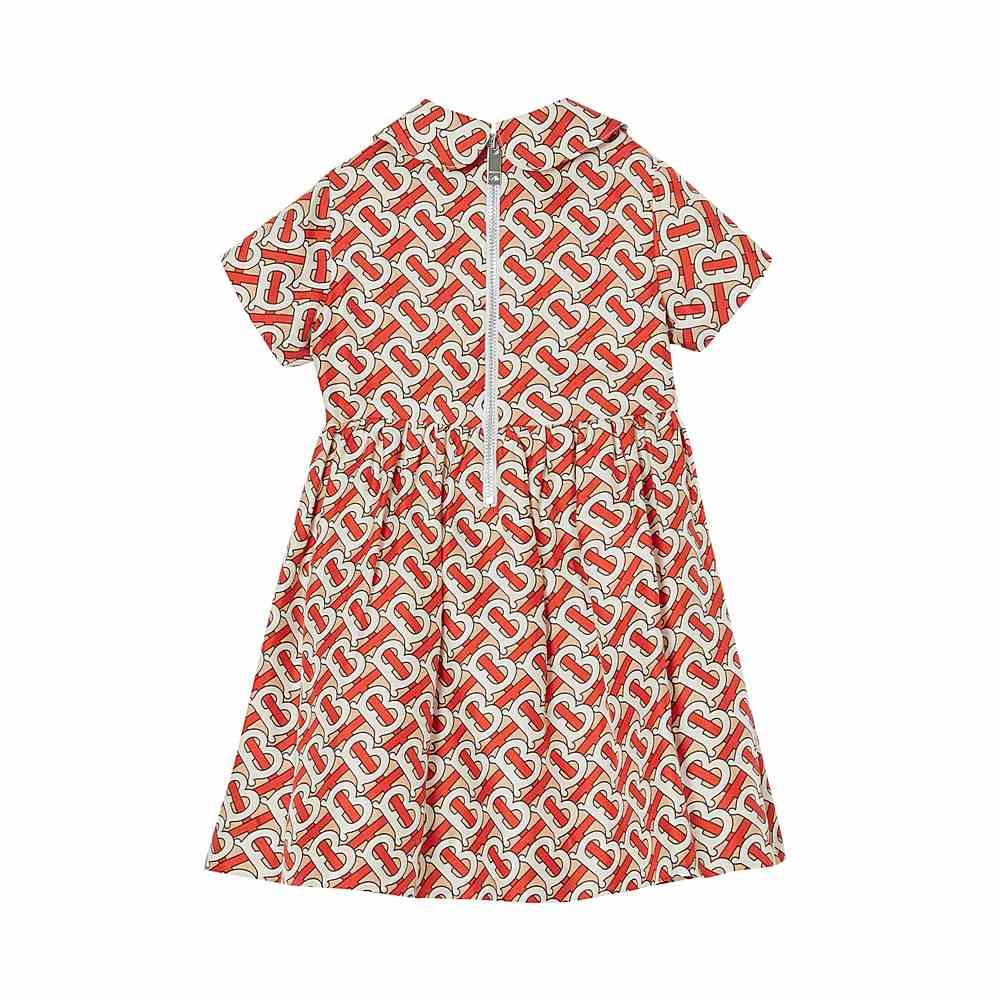 8026338 / RED / BURBERRY MINI EADELLA DRESS