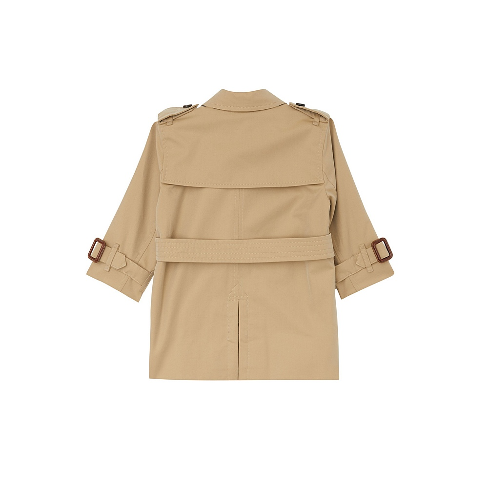 8006756 / STONE / BURBERRY MAYFAIR TRENCH