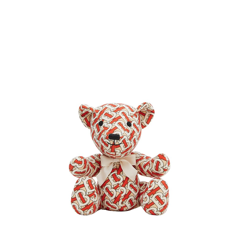 8026700 / VERMILLION RED / BURBERRY KNITTED BEAR