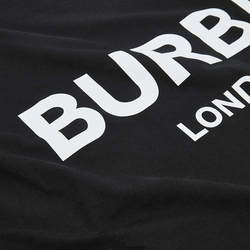 8025374 / BLACK / BURBERRY BLANKET W/LOGO