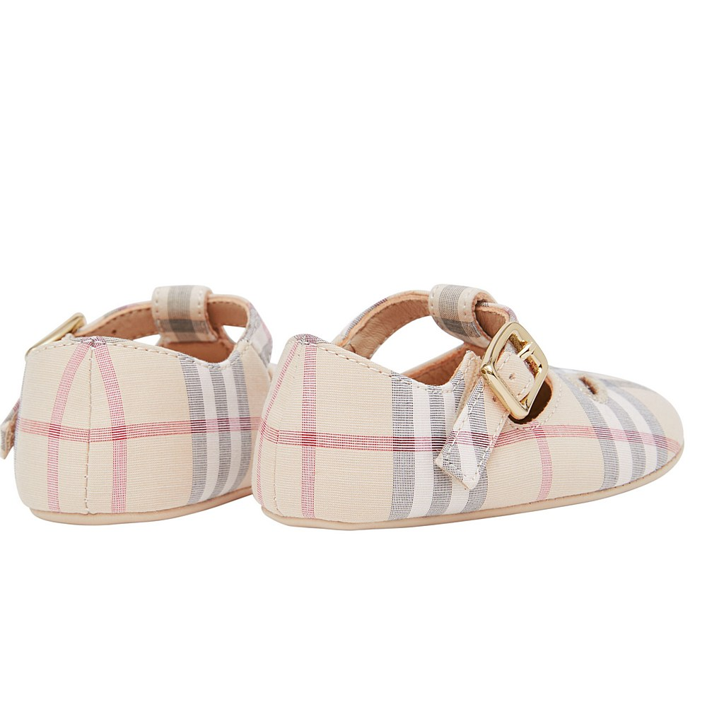 80232033 / MULTI / BURBERRY MINI KIPLING NB SHOES