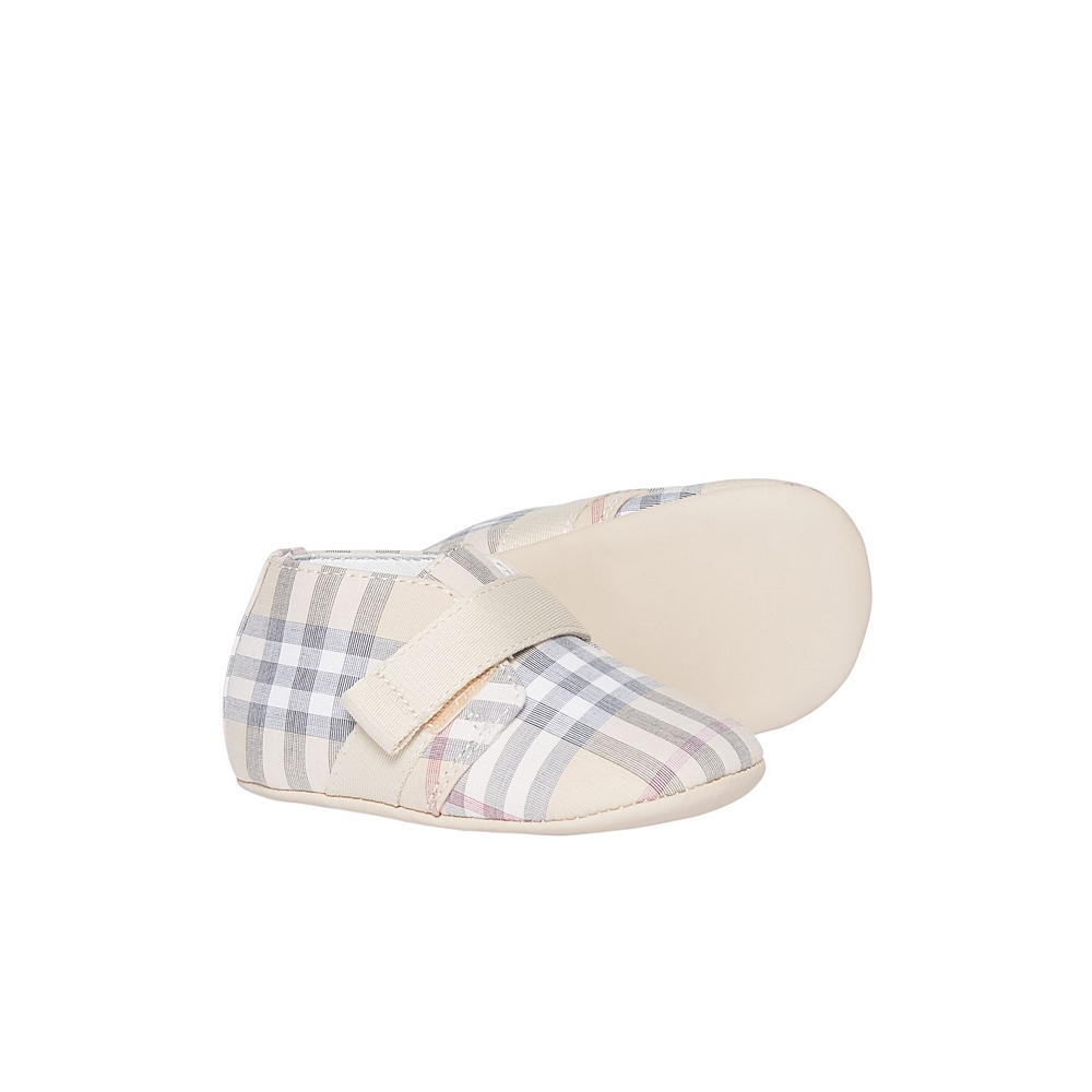 8022141 / PALE STONE / BURBERRY CHARLTON SHOES