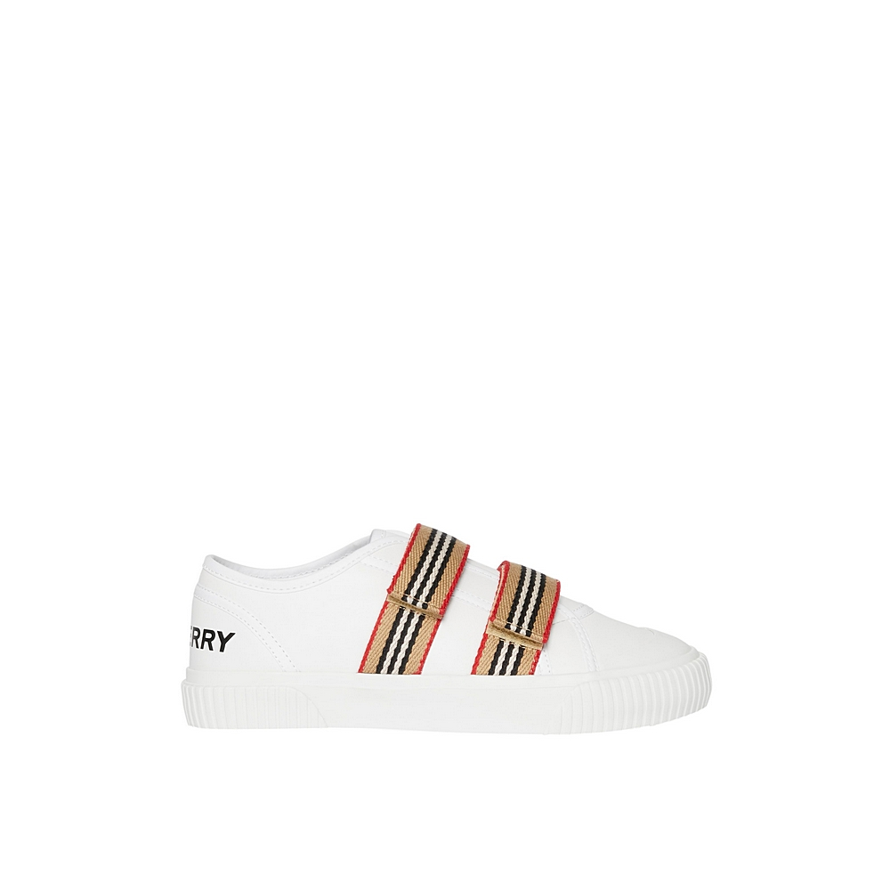 8015414 / WHITE / BURBERRY RAY KIDS TRAINERS