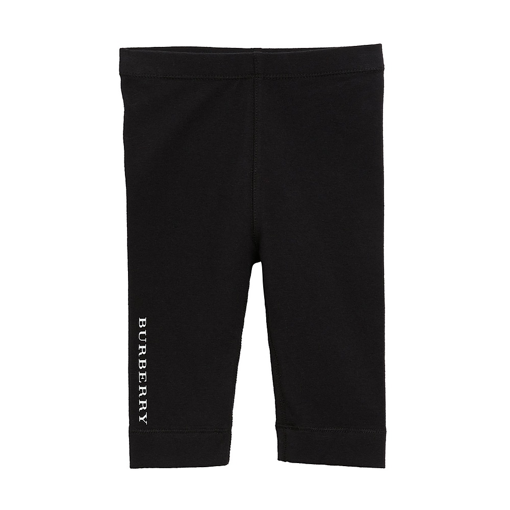 8003087 / BLACK / BURBERRY MINI PENNY JERSEY PANTS