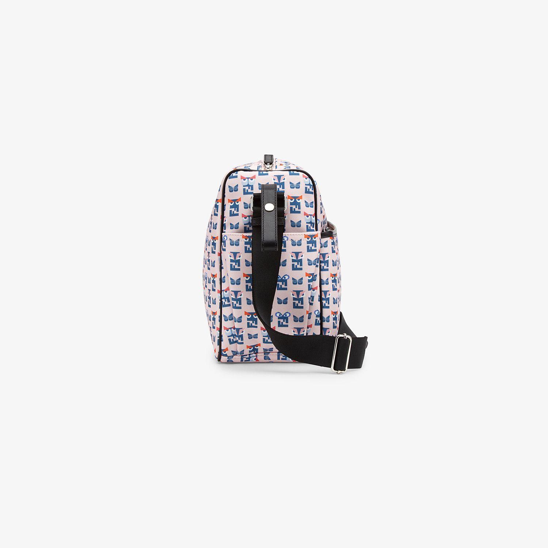 7VB009-787-UNI / PINK / FENDI Pink Monster Print Diaper Bag