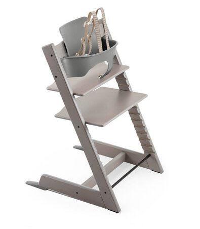 537700 / OAK GREYWASH / Tripp Trapp HighChair Box Set -Oak Greywash